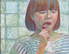 2012年11月28日(水)〜12月10日(月)清田悠紀子展「ストライプな日常」
