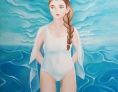 2014.6.25(水)-6.30(月) 「内田 亜樹 展 ~Painting of Life~」