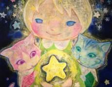 2014.7.2(水)-7.7(月) 『星に願いを』オオチケンスケ 個展