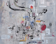 2015.1.7(水)-1.12(月) 与儀達文 日本画展