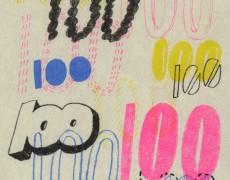 """2015.8.5(水)-8.10(月)「それぞれの色 それぞれの素材 それぞれの100」Group Exhibition """"100"""""""