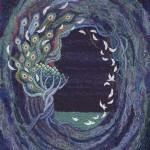 「2014年2月20日のラフマニノフ」 455×380mm 刺繍糸・羊毛