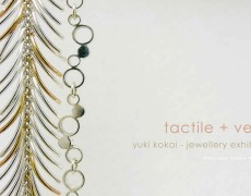 2016.4.13(水)〜4.18(月) tactile + verse yuki kokai – jewellery exhibition –