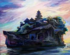 2016.5.18(水)〜5.23(月) 神山真理 展 「 Bali colours 」