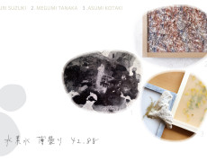 2017.5.3(水)〜5.8(月) 鈴木 有里・田中 恵美・小瀧 明日美「水素水 薄曇り 42.88」