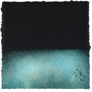 「音のない世界」 銅版画 2015 年制作 210×210mm